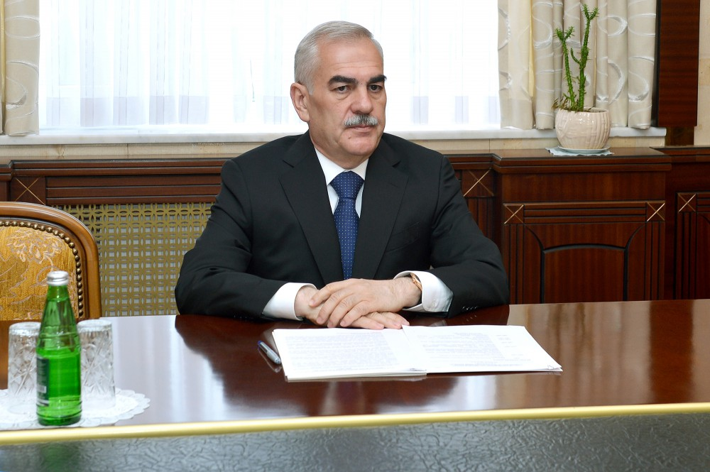 Chairman of Nakhchivan`s Supreme Assembly meets with head of EBRD Resident Office in Baku