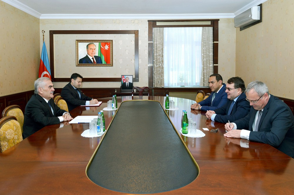 Chairman of Nakhchivan`s Supreme Assembly meets Hungarian Ambassador