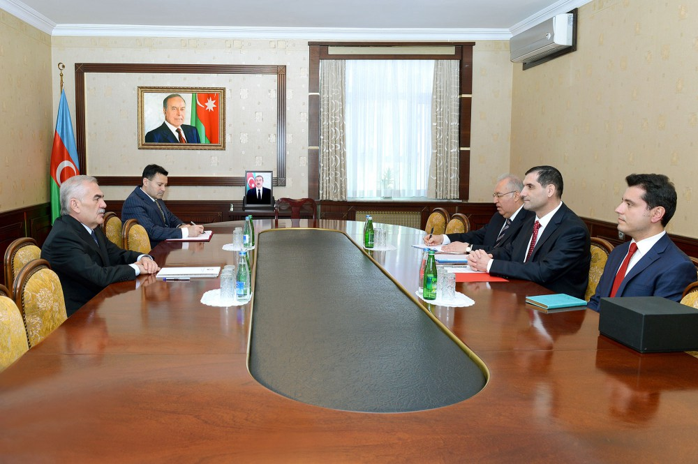 Chairman of Nakhchivan`s Supreme Assembly meets with Turkish ambassador