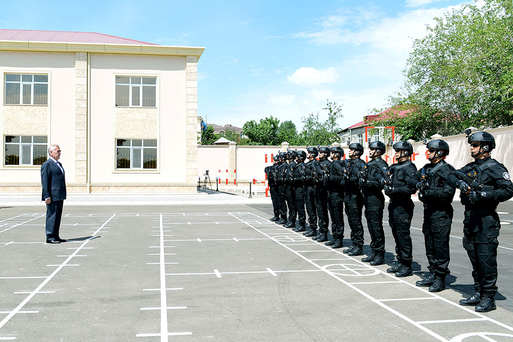 Administrative building and training center of Special Forces Department of State Security Service commissioned