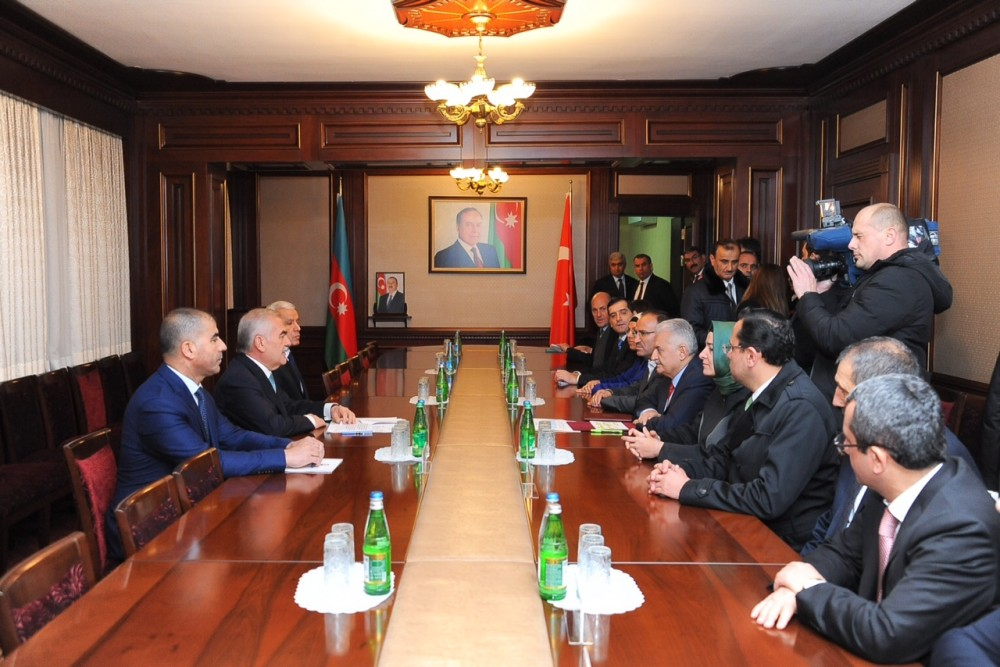 Chairman of Nakhchivan Supreme Assembly meets with Turkish PM