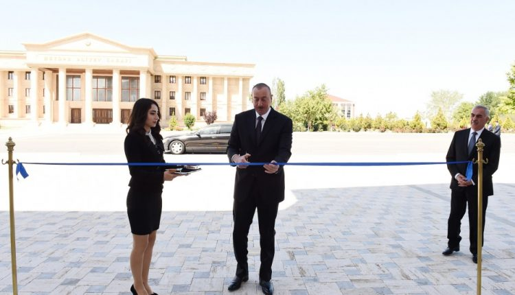 New building of Nakhchivan Teachers Institute inaugurated