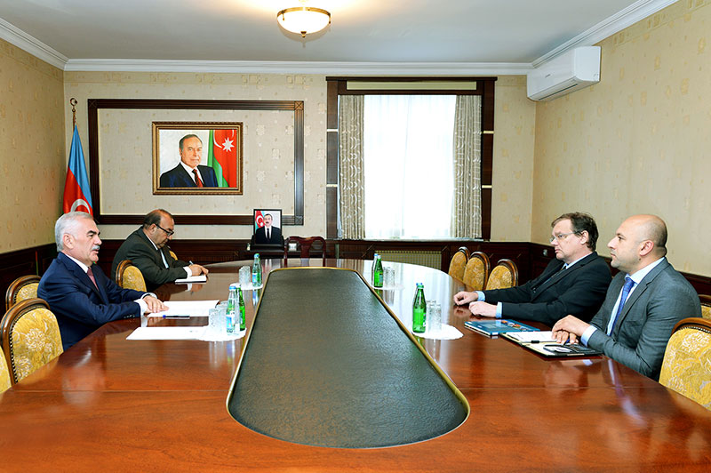 Chairman of Nakhchivan Supreme Assembly meets with BIOWORKS director