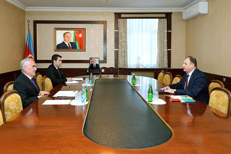 Chairman of Nakhchivan`s Supreme Assembly meets with Moldovan ambassador