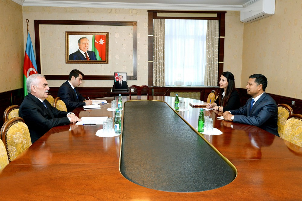 Chairman of Nakhchivan Supreme Assembly meets with Indian Ambassador to Azerbaijan