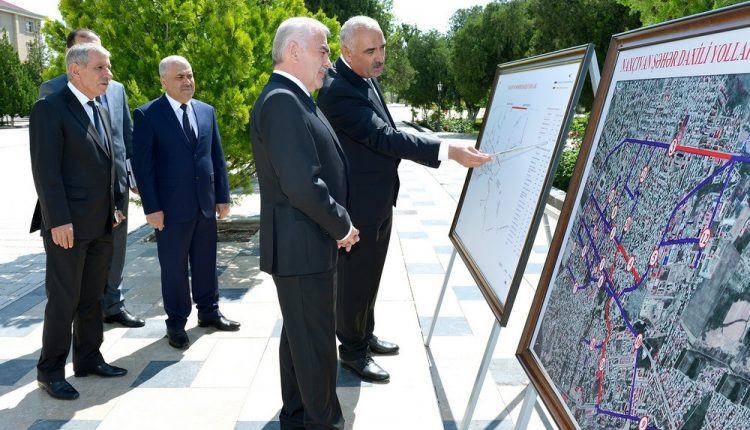 Nakhchivan intracity highways to be reconstructed