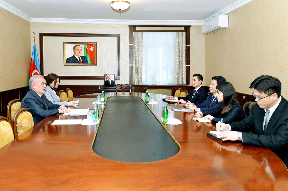 Chairman of Nakhchivan Supreme Assembly meets with Korean ambassador
