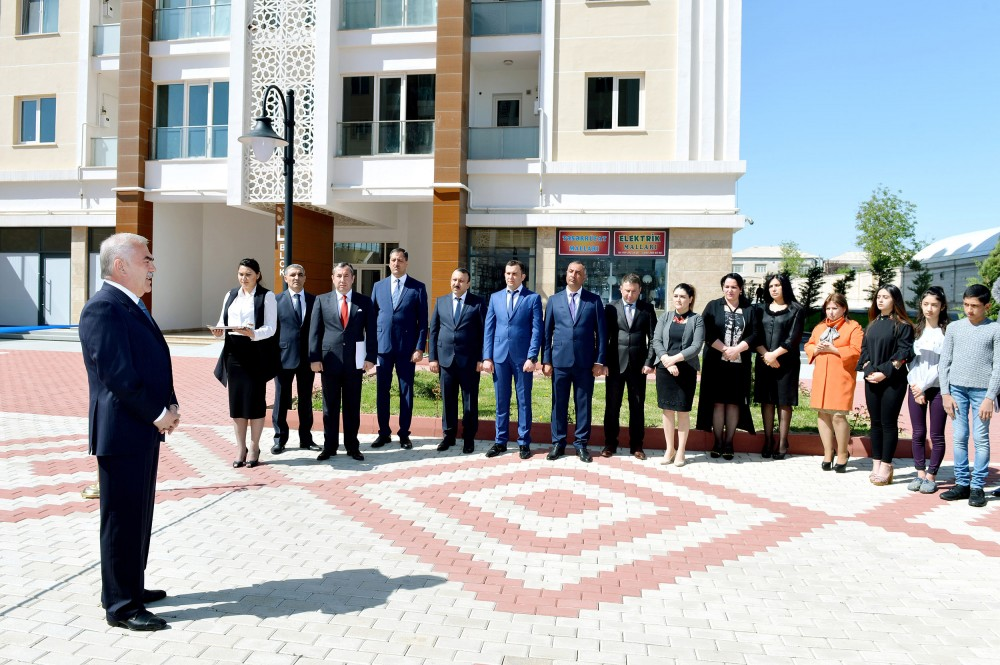 """Youth Town"" residential complex inaugurated in Nakhchivan"