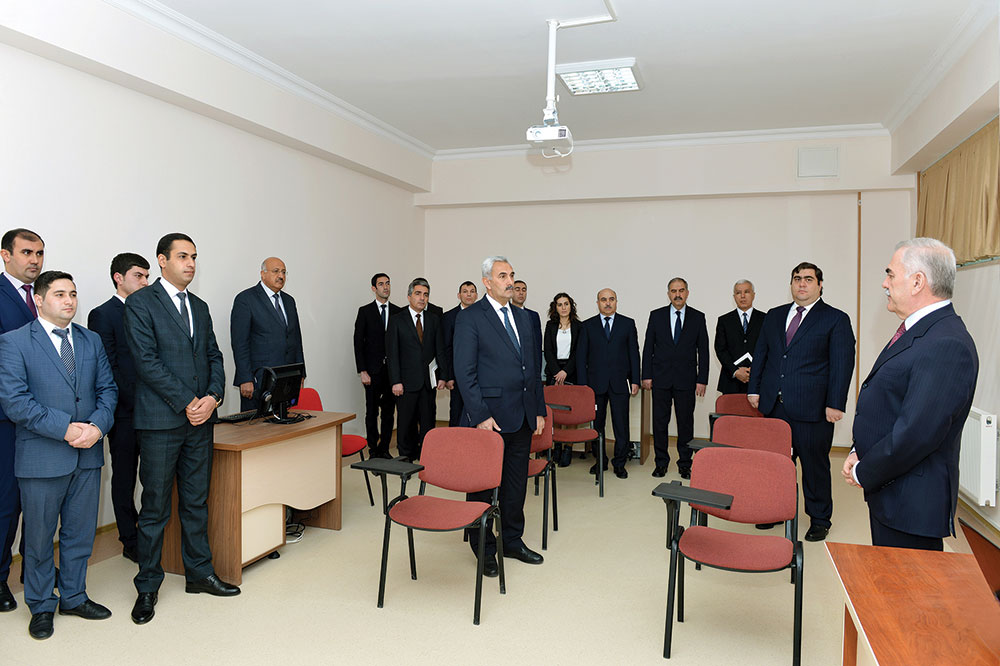 Distance Education Center of Nakhchivan State University goes into service