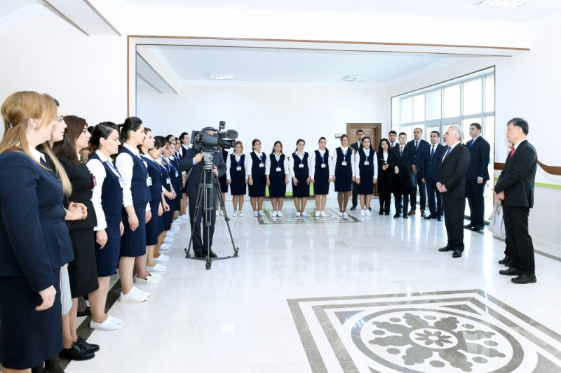 New kindergarten commissioned in Nakhchivan city