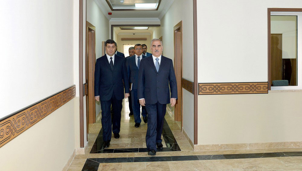 Administrative building of Julfa district department of Nakhchivan State Security Service opens